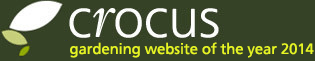 Crocus - gardening website of the year 2014