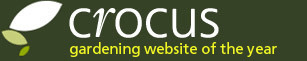 Crocus - gardening website of the year